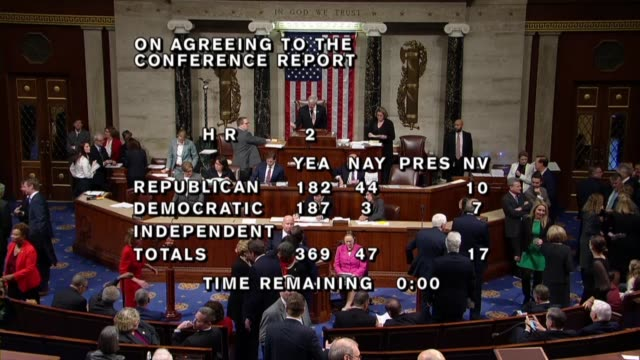 arkansas congressman steve womack calls the 36947 vote on final passage of a fiveyear agriculture authorization known as the farm bill - united states congress stock videos & royalty-free footage