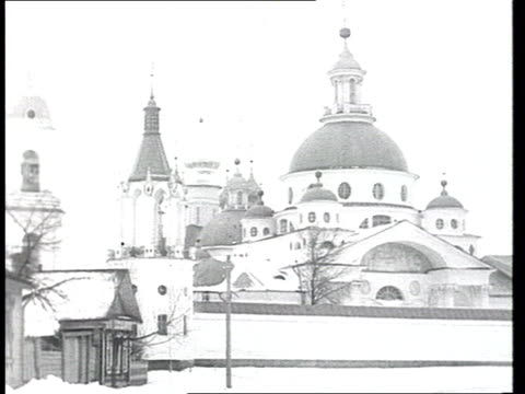 1914 Arkhangelsk monastery old market various Orthodox church and everyday life in prerevolutionary Imperial Russia churches city life crowd in...
