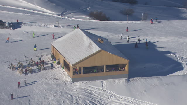 Arlberg - Ski area in Lech from above 06