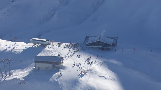 Arlberg - Skiing area in Lech from above 03
