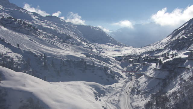 Arlberg - View of the mountain pass in Lech 03