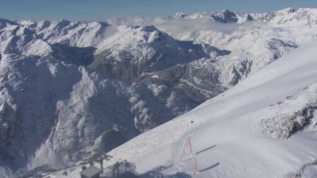 Arlberg - View of the mountain pass in Lech 08