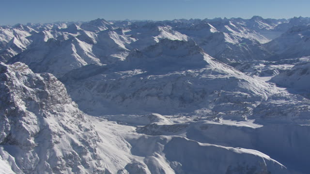 Arlberg - View of the mountain pass in Lech 20