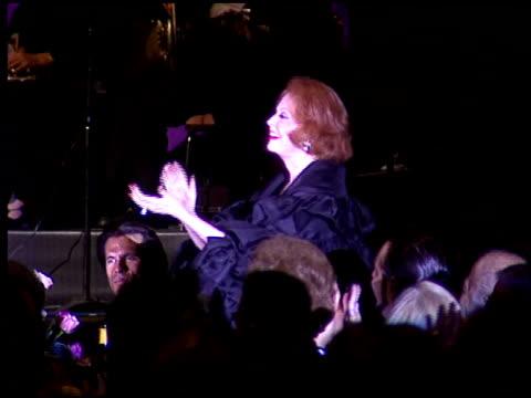 Arlene Dahl at the American Cinema Awards at the Biltmore Hotel in Los Angeles California on November 2 1996