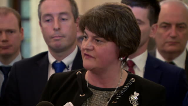 arlene foster saying prochoice supporters should think of those of us who are sad today after abortion was made legal in northern ireland - contemplation stock videos & royalty-free footage