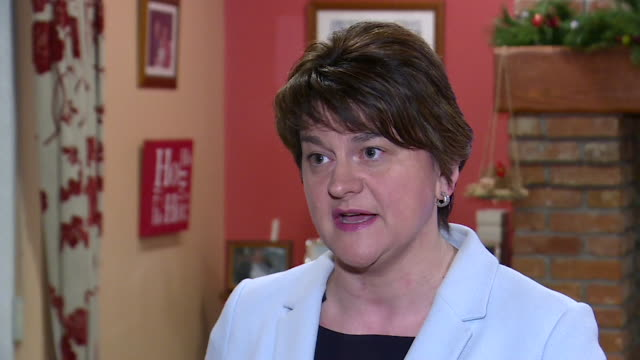 Arlene Foster saying the deal presented by Theresa May to the EU is not perfect but much improved