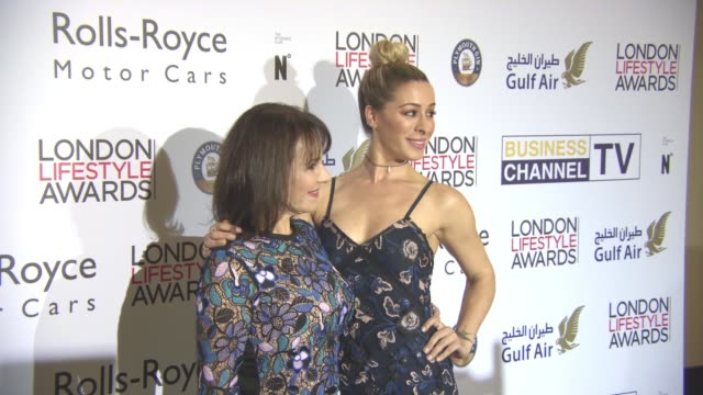 Arlene Philips and Alana Philips at London Lifestyle Awards at Lancaster London Hotel on October 3 2016 in London England