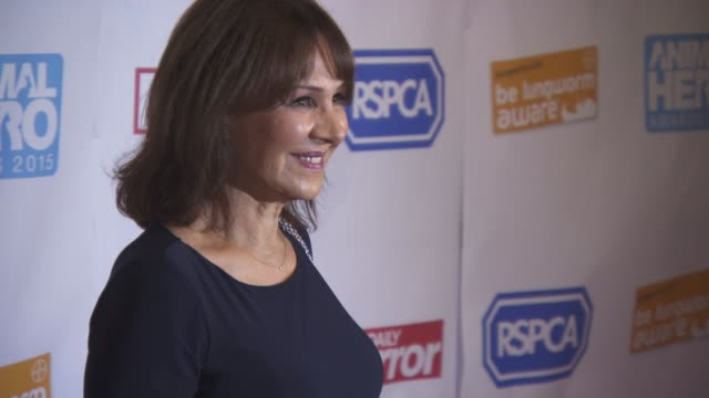 Arlene Phillips at Daily Mirror and RSPCA Animal Hero Awards at 8 Northumberland Avenue on October 21 2015 in London England