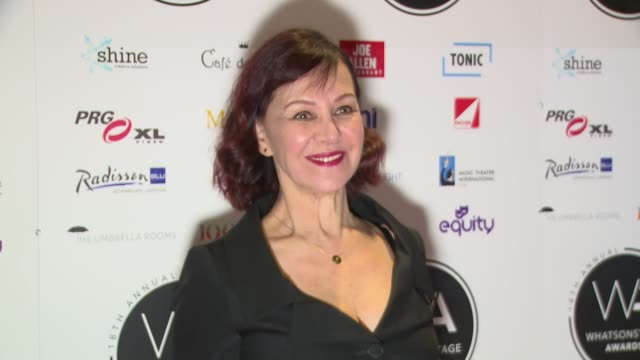 Arlene Phillips at Prince Of Wales Theatre on February 25 2018 in London England