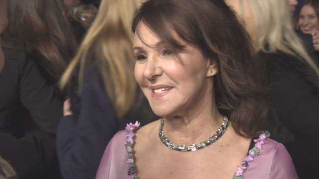 INTERVIEW Arlene Phillips on her dress smelling good the awards Downton Abbey at National Television Awards 2016 on January 19 2016 in London England