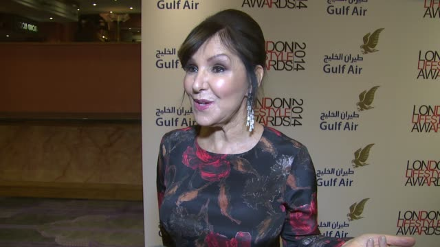 INTERVIEW Arlene Phillips on the Lifestyle Awards and her current work schedule at the London Lifestyle Awards 2014 on 8th October 2014 in London...