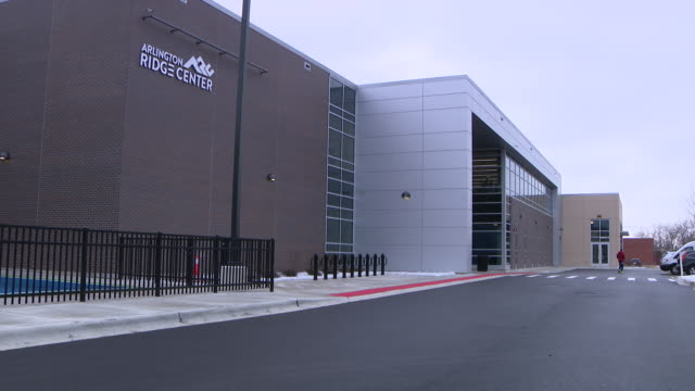 wgn arlington heights il us exterior of arlington ridge center in arlington heights illinois on saturday january 4 2020 - athleticism stock videos & royalty-free footage