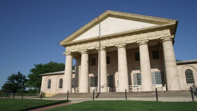 Arlington House (Robert E. Lee Memorial) at Arlington National Cemetery, Virginia. Shot in May 2012.