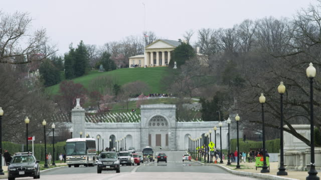 arlington national cemetery - arlington virginia stock videos & royalty-free footage