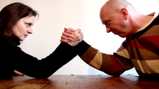 arm wrestling - arm wrestling stock videos & royalty-free footage
