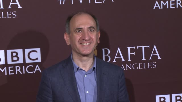 vídeos y material grabado en eventos de stock de armando iannucci at the 2015 bafta los angeles tv tea at sls hotel on september 19 2015 in beverly hills california - armando iannucci