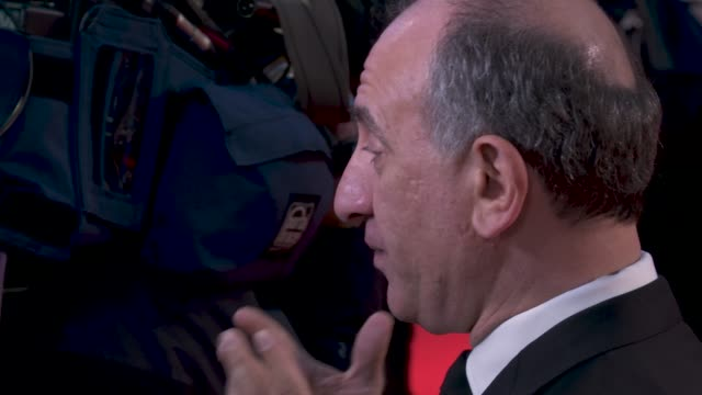armando iannucci 'the personal history of david copperfield' opening night gala - 63rd bfi london film festival at odeon luxe leicester square on... - アーマンド・イアヌッチ点の映像素材/bロール