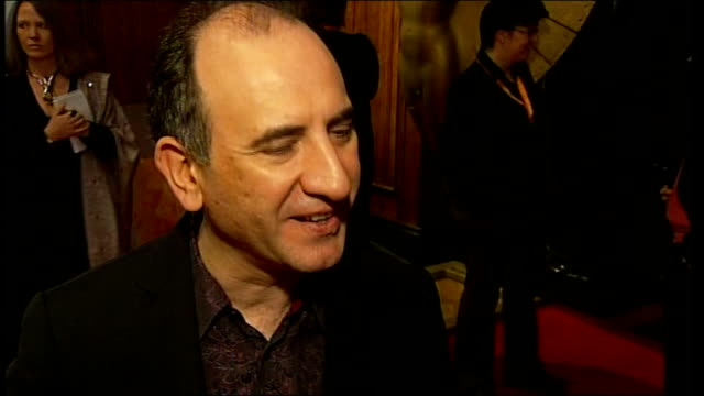 armando ianucci interview sot - on finding out he was nominated for an oscar / invited to a lunch with the other oscar nominees / working with steve... - steve coogan stock videos & royalty-free footage