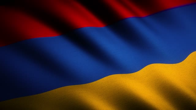 4k armenia flag - genocide stock videos & royalty-free footage