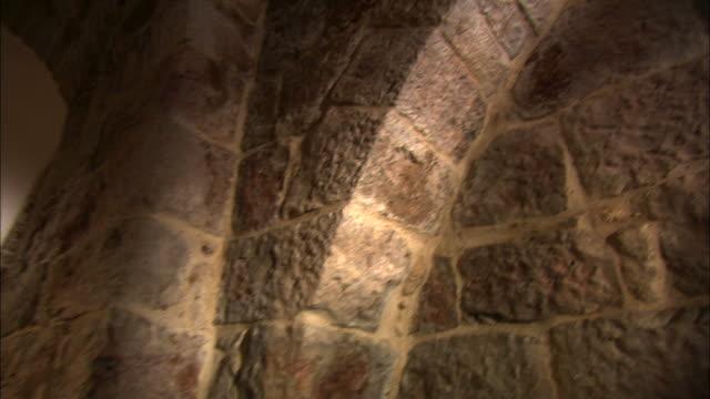 armenian catholic chuch in jerusalem - via dolorosa stock videos & royalty-free footage