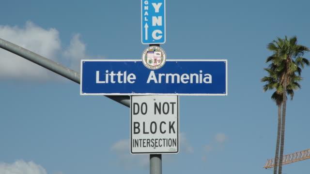 armenians in los angeles - eastern european culture stock videos & royalty-free footage