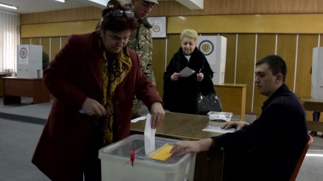 Armenians start voting in landmark legislative elections for the first time since the adoption of constitutional reforms aimed at transforming the ex...