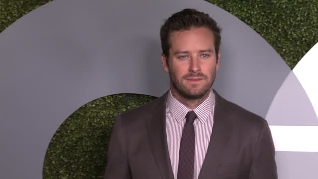 armie hammer at 2016 gq men of the year party at chateau marmont on december 08 2016 in los angeles california - armie hammer stock videos & royalty-free footage