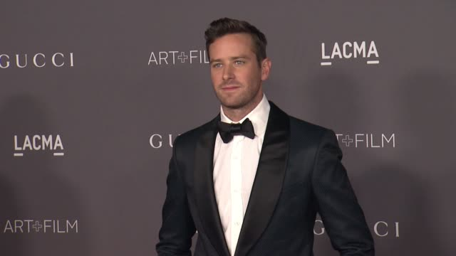 armie hammer at the 2017 lacma art film gala honoring mark bradford and george lucas and presented by gucci at lacma on november 4 2017 in los... - armie hammer stock videos & royalty-free footage