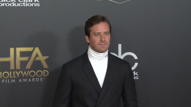 Armie Hammer at the 22nd Annual Hollywood Film Awards at The Beverly Hilton Hotel on November 04 2018 in Beverly Hills California