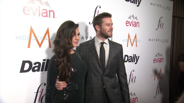 armie hammer at the daily front row presents first annual fashion los angeles awards in los angeles ca - armie hammer stock videos & royalty-free footage