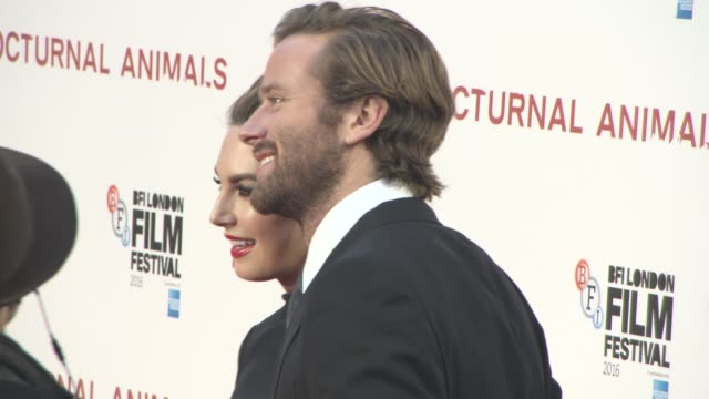 Nocturnal Animals official screening at Odeon Leicester Square on October 14 2016 in London England