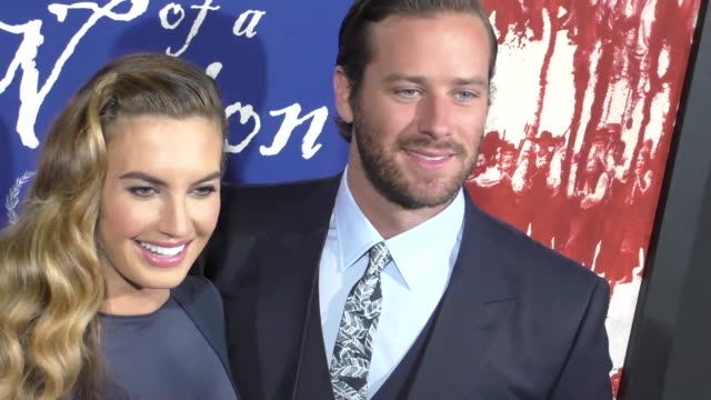 Armie Hammer Elizabeth Chambers at 'The Birth Of A Nation' Premiere Presented By Fox Searchlight at ArcLight Cinemas Cinerama Dome on September 21...