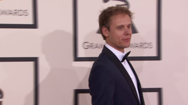 Armin van Buuren at 56th Annual Grammy Awards Arrivals at Staples Center on in Los Angeles California