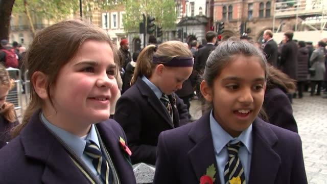 Ceremonies held around the UK to commemorate Vox pops SOT