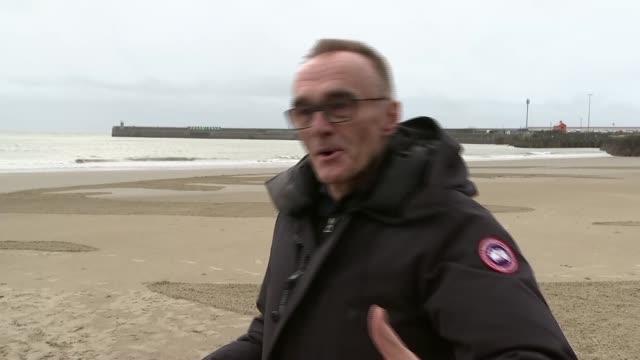 Danny Boyle interview ENGLAND Tyne and Wear Sunderland Danny Boyle interview SOT re Pages of the Sea art installation