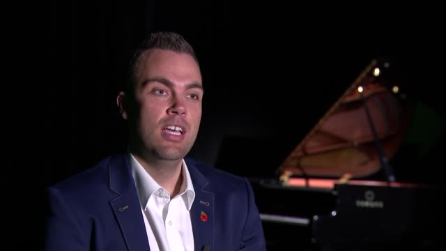 Armistice Day Onehanded pianist performs concerto written for veteran Nicholas McCarthy interview SOT
