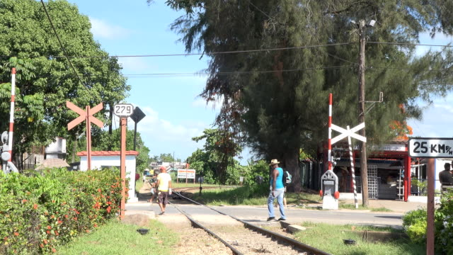 armored train monument,landmark and museum about the battle of santa clara - che guevara stock videos & royalty-free footage