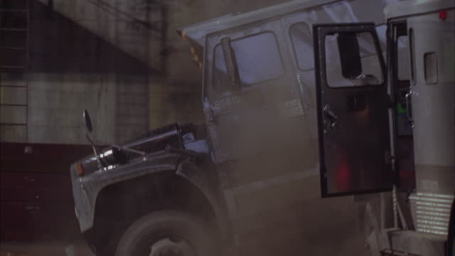 armored trucks crash into each other. - armored vehicle stock videos & royalty-free footage