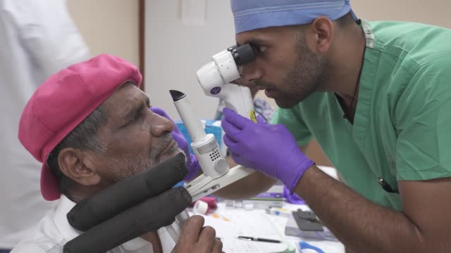 US Army and Air Force opthalmologists perform cataract surgery on local patients in Guyana in support of New Horizons 2019