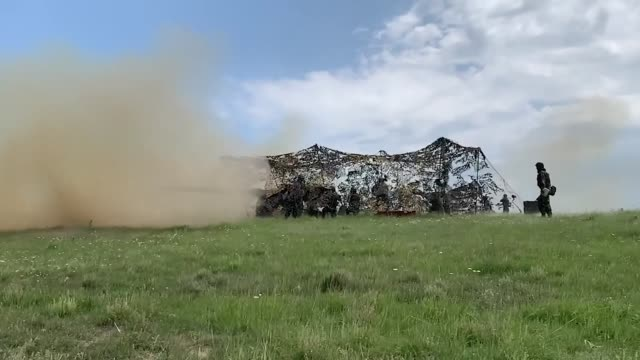army and romanian joint force command conduct live fire exercise during saber guardian, romania - battle stock videos & royalty-free footage