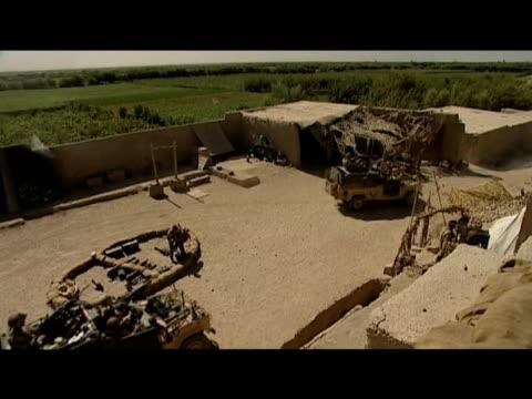army barracks afghanistan 10 september 2009 - 2001年~ アフガニスタン紛争点の映像素材/bロール