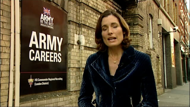 Army bullying Defence Secretary announces new Ombudsman London EXT Reporter to camera