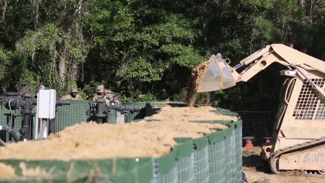 US Army Corps of Engineers join forces with South Carolina National Guard as part of Hurricane Florence response and recovery operations in Horry...