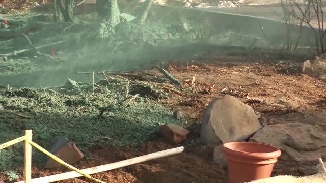 us army corps of engineers remove wild fire debris from sacramento caliornia during november 2017 to january 2018 - gratuity stock videos & royalty-free footage