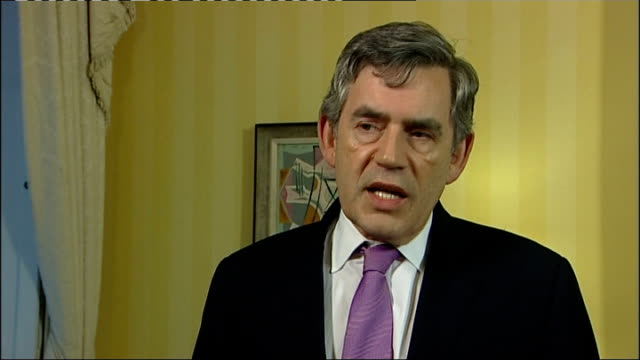 gordon brown interview england london int gordon brown mp interview sot this is an important and significant day for northern ireland an independent... - significant stock videos & royalty-free footage