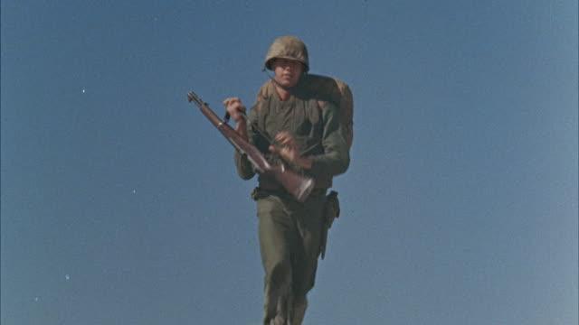MS TU Army men walking