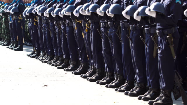 army parade - military uniform stock videos & royalty-free footage