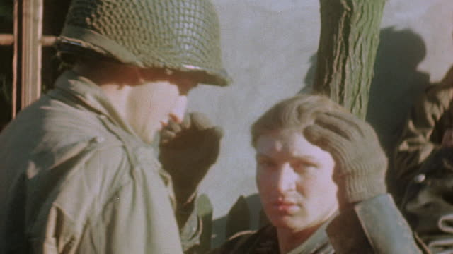 s army soldiers searching german army pows / germany - prisoner of war stock videos & royalty-free footage