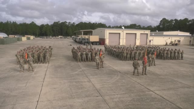 army soldiers with the 63rd expeditionary signal battalion stationed at fort stewart, georgia pilot an electronic application to help improve... - fort stewart stock videos & royalty-free footage