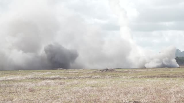 us army us marines and australian defense force conduct a combined joint force maneuver exercise with m142 high mobility artillery rocket system rbs... - taking off stock videos & royalty-free footage